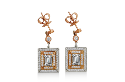 Diamond Earrings at Ed White Jewelers